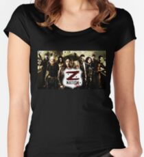 Z nation - cast Women's Fitted Scoop T-Shirt