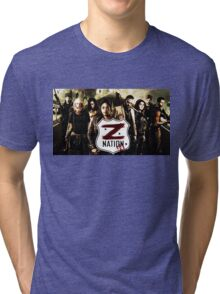 Z nation - cast Tri-blend T-Shirt