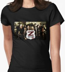 Z nation - cast Womens Fitted T-Shirt