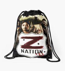 Z nation - cast Drawstring Bag