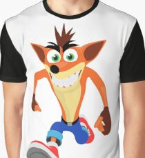 FunnyBONE Crash Graphic T-Shirt