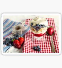 Still Life with Summer Berries Sticker