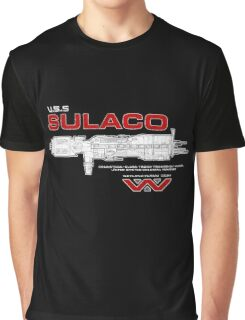 U.S.S. Sulaco - Aliens Graphic T-Shirt