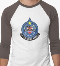 United States Colonial Marine Corps - Aliens Men's Baseball ¾ T-Shirt
