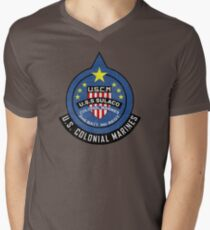 United States Colonial Marine Corps - Aliens Men's V-Neck T-Shirt