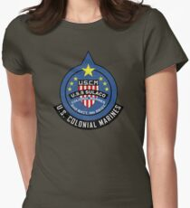 United States Colonial Marine Corps - Aliens Women's Fitted T-Shirt