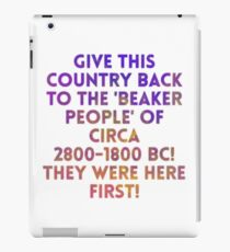 Beaker People iPad Case/Skin