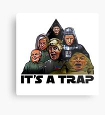 The Brexit Trap Metal Print