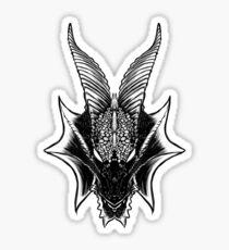 Schwarz Sticker