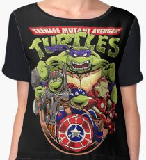 Avenger Turtles Chiffon Top