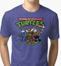 Killer Turtles Tri-blend T-Shirt
