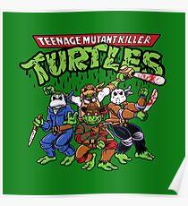 Killer Turtles Poster