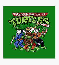 Killer Turtles Photographic Print