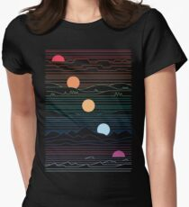 Many Lands Under One Sun Women's Fitted T-Shirt