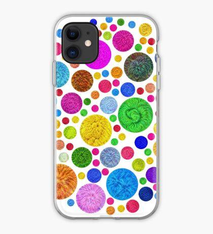 #DeepDream Color Circles Visual Areas 4x4K v1448872458 iPhone Case