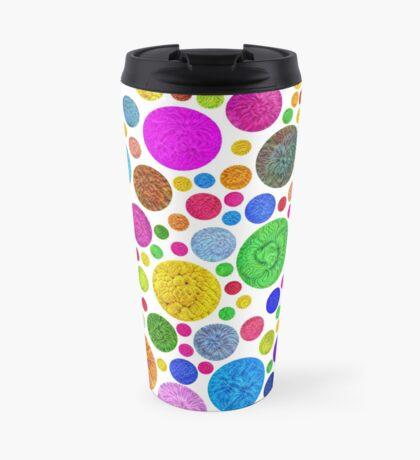 #DeepDream Color Circles Visual Areas 4x4K v1448872458 Travel Mug