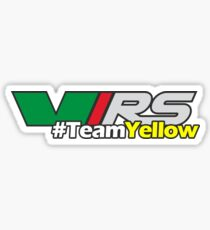#TeamYellow Sticker