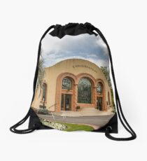 The Conservatory at the Fitzroy Gardens Drawstring Bag