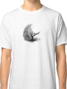 Sumi e sakura tree Classic T-Shirt
