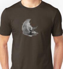 Sumi e sakura tree Unisex T-Shirt