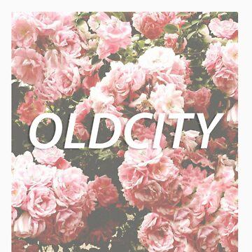 OC Vintage Rose Tee by OldCity