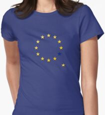 Brexit, leaving the EU Women's Fitted T-Shirt