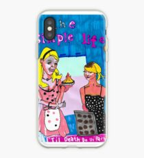 The Simple Life fan art  iPhone Case