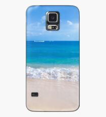 Gentle waves on the sandy beach in Hawaii Case/Skin for Samsung Galaxy