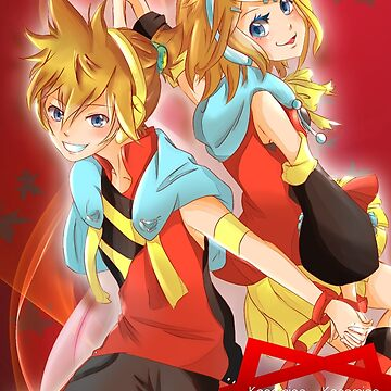 Vocaloid: Kagamine Len and  Rin by ZeonXeria