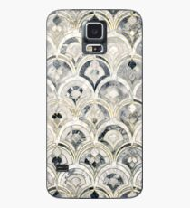 Monochrome Art Deco Marble Tiles Case/Skin for Samsung Galaxy