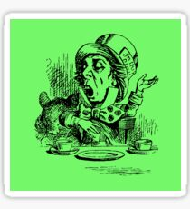 As Mad as a Hatter Sticker