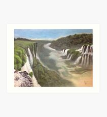 Iguazu- Heaven and hell Art Print