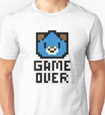 Game Over Hyperdimension Neptunia Dogoo Pixel Art T-Shirt