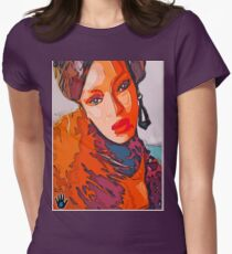 A NIGHT IN ZAIRE Womens Fitted T-Shirt