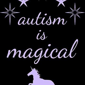 autism is magical - light purple by lhabc