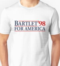 Camiseta ajustada Bartlet for America Slogan