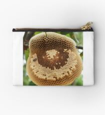 Bees on honeycomb Studio Pouch