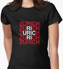 ZURICH Womens Fitted T-Shirt