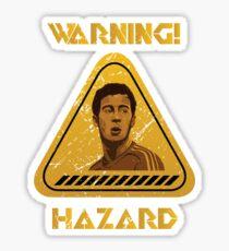Chelsea Warning Hazard Sticker