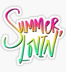 Summer Lovin' Beach Sticker