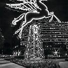 Dallas Pegasus BW by josephhaubert