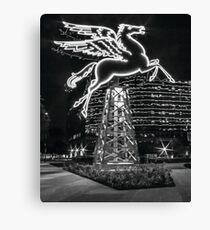 Dallas Pegasus BW Leinwanddruck