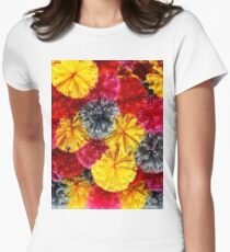 Warm colors Women's Fitted T-Shirt