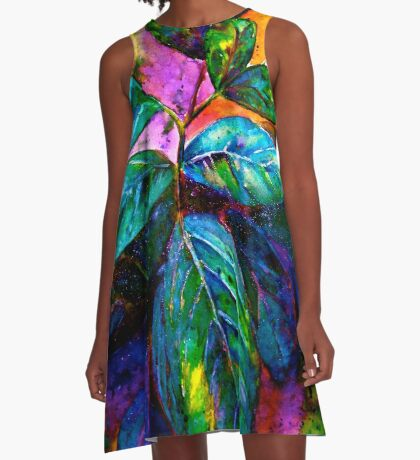 Tropical Fantasy.. A-Line Dress