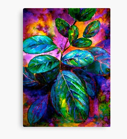 Tropical Fantasy.. Canvas Print