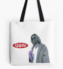 69 cent.  Jeffrey Lebowski, AKA The Dude at Ralph's Tote Bag
