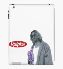 69 cent.  Jeffrey Lebowski, AKA The Dude at Ralph's iPad Case/Skin
