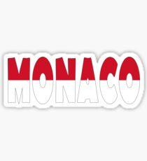 Pegatina Mónaco