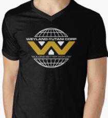The Weyland-Yutani Corporation Globe - Clean Men's V-Neck T-Shirt