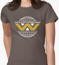 The Weyland-Yutani Corporation Globe - Clean Womens Fitted T-Shirt